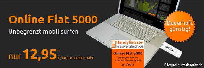 crash Online Flat 5000