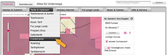 T-Mobile Netzabdeckung prüfen