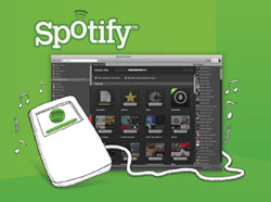 Spotify Online-Musikdienst