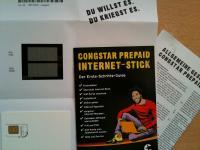 congstar Internet-Stick SIM-Karte, Guide und AGB