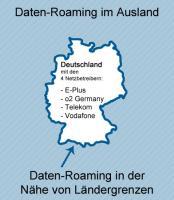 Daten-Roaming an der Grenze zu anderen Ländern