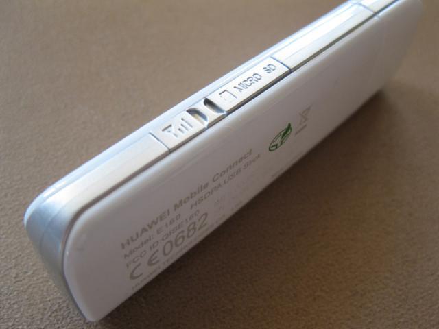 Huawei E160 Fonic Surfstick Seitenansicht