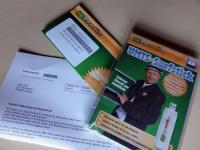 Klarmobil Internet Flat 500 Surfstick, SIM-Karte und Unterlagen