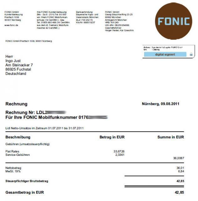 Abrechnung über Mobil : lidl mobile juli abrechnung ber 40 euro surfstick vergleich ~ Themetempest.com Abrechnung