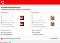 Vodafone Performance Manager - Experten-Einstellungen